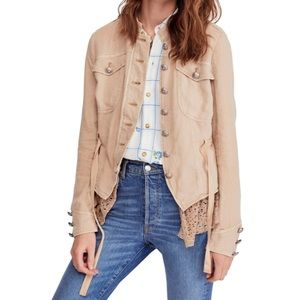 Free People Emilie Jacket In Sand